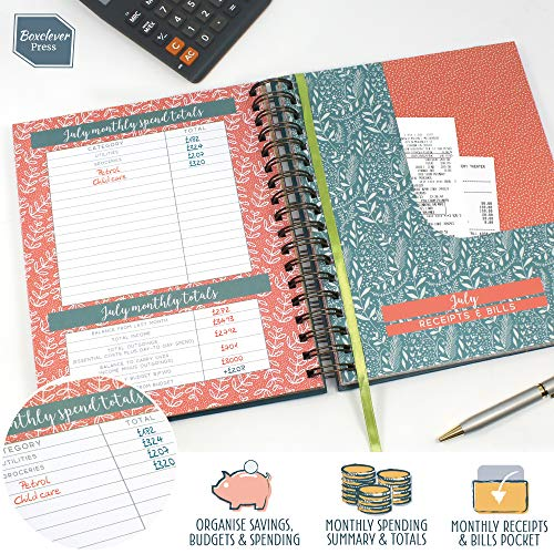 Zoom IMG-1 boxclever press budget book ampio