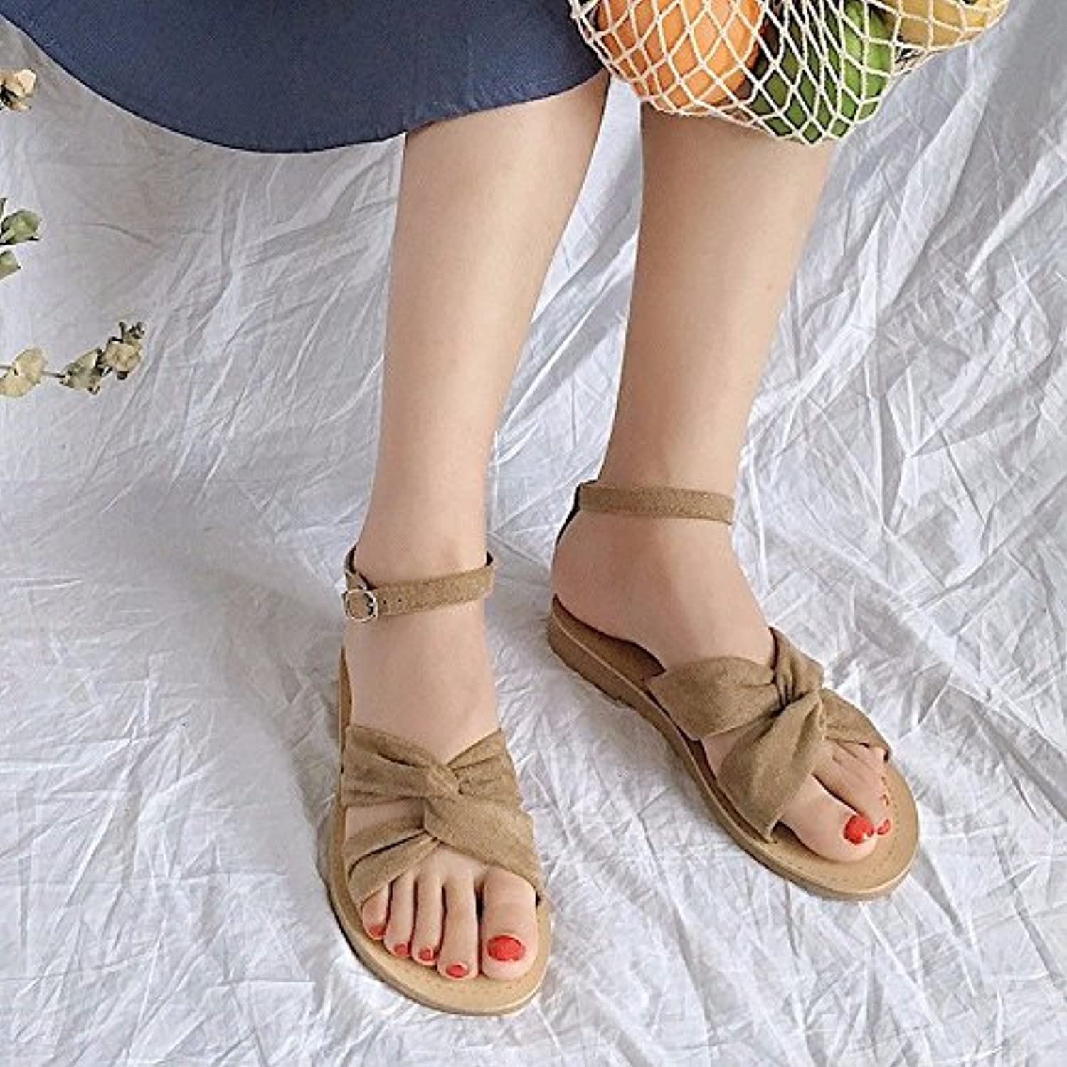 f902ac946 BTBTAV The New Summer Students Eu Students And Versatile Minimalist Shoes  Flat Footwear Women Shoes Eu 39 Beige Parent B07DLSNSHD c880791