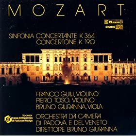 Concertone in C Major, K 190: II. Andantino grazioso
