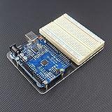 Acryl-Platte lötfrei und Lochrasterleiterplatte Für Arduino UNO R3