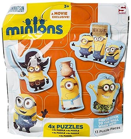 Speelgoed MIN-5591 - Minions Boden-Puzzle