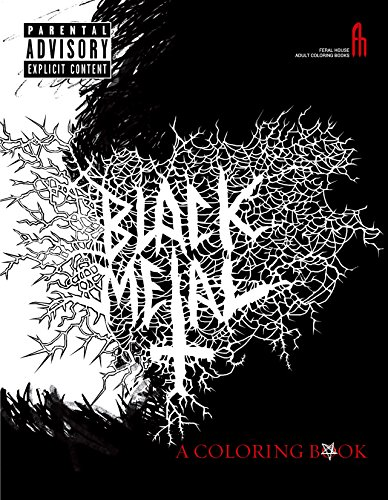 The Black Metal Coloring Book (Feral House Adult Coloring Books)
