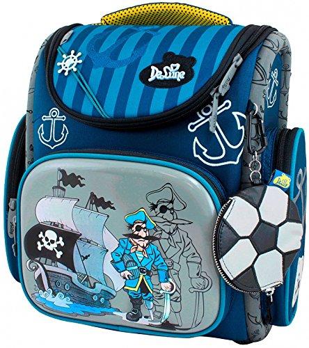 Delune Premium Pirat 3-116 Schulrucksack Kinderrucksack Jungen Taschen Rucksack