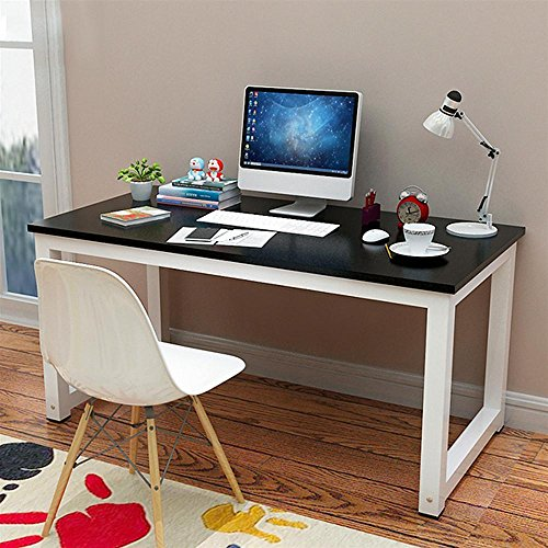 beyondfashion-home-office-simple-style-black-wood-workstation-table-metal-frame-computer-desk