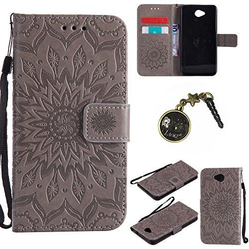 Preisvergleich Produktbild PU Silikon Schutzhülle Handyhülle Painted pc case cover hülle Handy-Fall-Haut Shell Abdeckungen für Nokia lumia 650 N650 +Staubstecker (7GG)