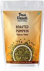 True Elements Roasted Pumpkin Seeds Cheesy Onion, 125gm