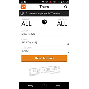 Cleartrip - Flights Hotels IRCTC Indian Rail: Amazon co uk