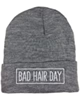 Bad Hair Day Mütze mit Rahmen Bad Hair Day Beanie Beanies Neuer Style