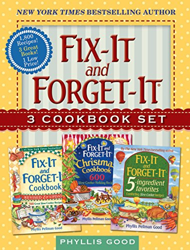 Fix-It and Forget-It Box Set: 3 Slow Cooker Classics in 1 Deluxe Gift Set (Crock Pot-slow Cooker Classic)