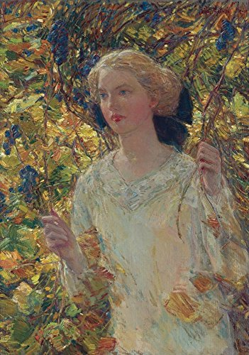 Das Museum Outlet-The Grapevine, 1911, gespannte Leinwand Galerie verpackt. 29,7x 41,9cm