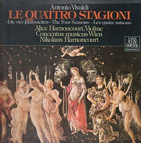 The Four Seasons (Harnoncourt) [Vinyl LP] -