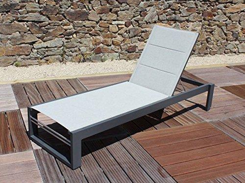 Residence - Bain De Soleil Brisbane Anthracite (lot) - Lot - Lot De 2