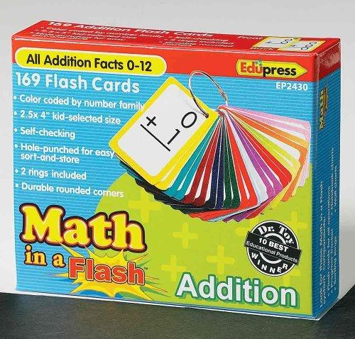 Edupress Math in a Addition Flash Cards (In - Flash Einem Math)