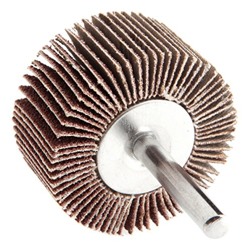 Forney 71688montiert Lamellenschleifer mit 1/10,2cm Schaft, 5,1cm von 2,5cm Korn 60
