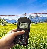 Eider Digital Voltmeter-Zaun-& Batterie-Tester, Schwarz