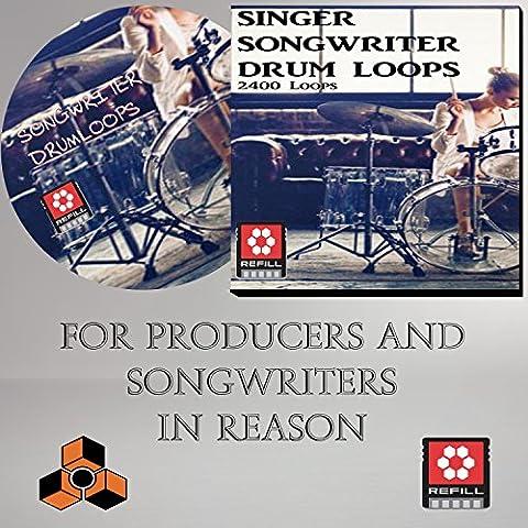 Songwriter Drumloops Refill - For Singer songwriters using Propellerhead Reason