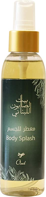 Bayt Al Saboun Al Loubnani Oud Body Splash, 150 Ml