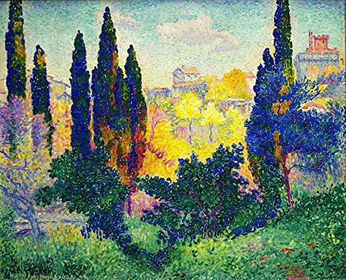 Das Museum Outlet - Cypress Trees at Cagnes, 1908 3 - A3 Poster