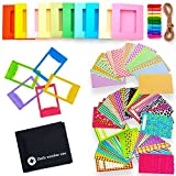 #2: 5 in 1 Colorful Bundle Kit Accessories for Fujifilm Instax Mini 9/8 Camera - Assorted Accessory Pack of Sticker Frames