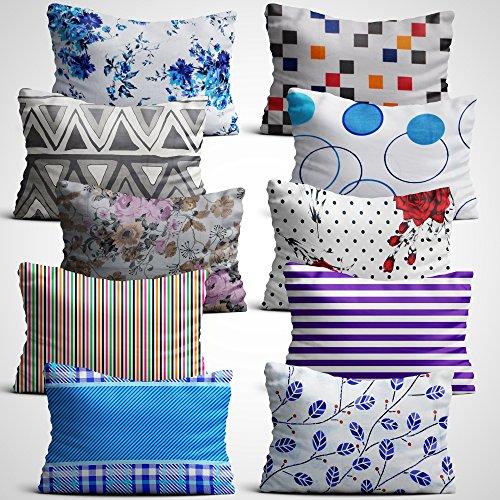 Story@Home Ultra Soft Set of 2 Pillowcases Mesmerizing 16