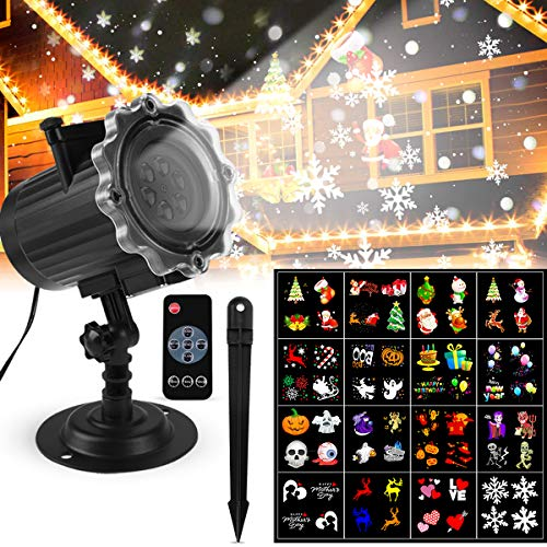 Luces Proyector Navidad LED Luces Proyector Exterior/Interiores