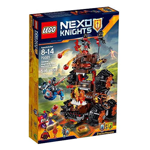 LEGO 70321 Nexo Knights General Magmar Siege Machine of Doom Construction Set by LEGO