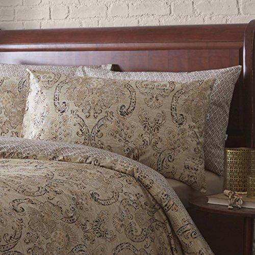 Classic Vantona Fortuni Bedding Duvet Cover 2 Pillowcase Set, Multi – Super King Size