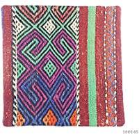 Nuovo. 100% lana – turco marocchino Colourful Kilim Cuscino Covers 16