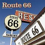 Route 66 2019 - 18-Monatskalender mit freier TravelDays-App (Wall-Kalender)