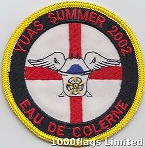 Universität Yorkshire Air Squadron Eau de Colerne 2002Royal Air Force RAF Patch Badge bestickt * * *