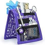 Elite Bags, Organizer da taschino, Keen's, Assistenza infermieristica, Astuccio medico sanitario, colore Viola