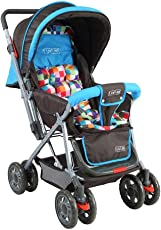Luvlap Baby Stroller Pram Sunshine (Teal)
