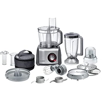 Bosch Mcm68861gb Food Processor 1250 W 3 9 L Brushed Stainless