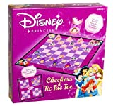 Disney Princess Checkers and Tic-Tac-Toe Combo by USAopoly