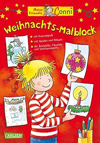Conni Weihnachts-Malblock