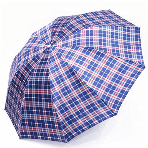 SBBCW Verstärkung Erhöhung Regen Oder Sonnenschein Dual Falzen Wind Kreativ Geschäft Regenschirm