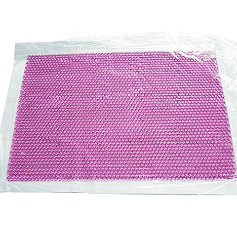 ishowstore Cooling Gel Sitz/Kissen Pad Massage Matte für Stuhl Auto Bett Sommer Pink-55x35cm