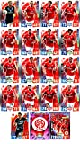 Match Attax Bundesliga 2015 2016 - Karten-Set 1. FSV Mainz 05 Viererkette Clubkarte - Deutsch