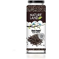 Natureland Organics Black Pepper / Kali Mirch 100 gm - Organic Spices
