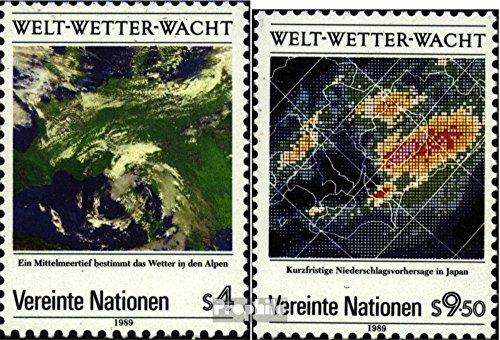 Prophila Collection UNO - Wien 92-93 (kompl.Ausg.) 1989 Welt-Wetter-Wacht (Briefmarken für Sammler)