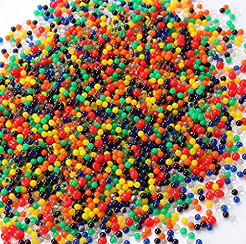 L's 5000 x Mixed Colors Water Gel ball Beads Jelly