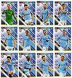 PANINI ADRENALYN XL FIFA 365 2019 – Manchester City alle zwölf (12) Teamkollegen Basiskarten
