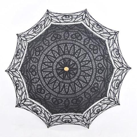 Remedios Battenburg Lace Wedding Bridal Shower Umbrella,