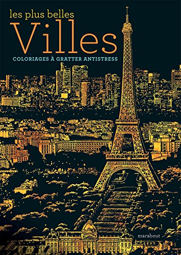 Livre à gratter - Cities par Lago Design