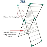 Peng Essentials Steel Foldable Cloth Drying Rack/Stand (Butterfly)