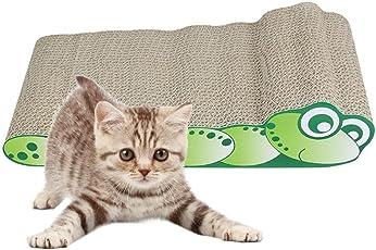 Prom-near Katzenkratzbrett Kratzbrett für Katzen mit Katzenminze, Sisal Kratzteppich, 44.5 * 23 * 10cm, Kratzmatten für die Krallenpflege Ihrer Katze, Nachhaltig und Umweltfreundlich