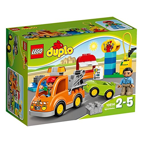 LEGO-Duplo-Tow-Truck-10814buildable-car-and-Tow-Truck-vehicle-break-down-themebuilding-skills-by-stacking-the-brickscreate-the-garage-signTow-Truck