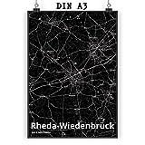 Mr. & Mrs. Panda Poster DIN A3 Stadt Rheda-Wiedenbrück