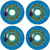 Best Santa Cruz Skateboards Skateboards - Santa Cruz Skateboards Slimeballs Maggots Blue Skateboard Wheels Review