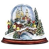 Leuchtender Märchen-Wintertraum – Schneekugel mit Musik
